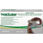 Super Sculpey Medium Blend Clay 1lb - Gray