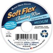 """Black - Soft Flex Wire 49-Strand .019""""X10'"""