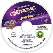 "Champagne - Extreme Flex Wire 19-Strand .014""X10'"