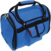 "Prefer Pets Privacy Carrier 17""X12""X10""-Blue"