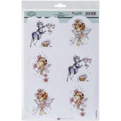 "Posey - Wee Stamps Topper Sheet 8.3""X12.2"""