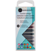 Manuscript Creative Calligraphy Cartridges 12/Pkg