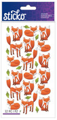 Foxes Classic Stickers - Sticko Stickers