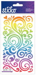 Rainbow Swirls Classic Stickers - Sticko Stickers