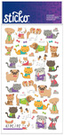 Tiny Cats & Dogs Classic Stickers - Sticko Stickers