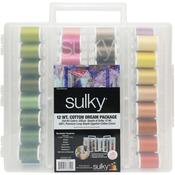 Sulky Cotton Slimline 2014 New Colors Dream Assortment-12wt Cotton