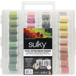 Sulky Cotton Slimline 2014 New Colors Dream Assortment-30wt Cotton