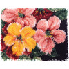 "Wonderart Latch Hook Kit 15""X20""-Brilliant Blossoms"