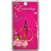 "Petites Embroidery Scissors 2.25""-Gold"