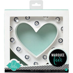 "Heidi Swapp Marquee Love Letters, Numbers & Shapes 8.5""-Heart"