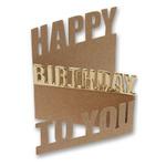 Little B Cutting Die - Happy Birthday, 2/Pkg