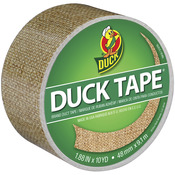 Burlap Patterned Duck Tape