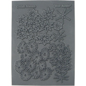 "Christi Friesen Texture Stamp 4.25""X5.5""-Star Burst"