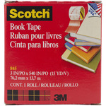 "Scotch (R) Book Repair Tape-3""X15yd White"