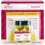 Candy & Baking Flavoring .125oz Bottle 2/Pkg - Amaretto