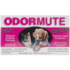 Odormute 15oz - Unscented Hueter Toledo-Odormute: Unscented. A blend of natural enzymes that will eliminate any organic odor! In powder form, odor mute is easy to store and handle. Maintains full strength for up to 5 years. As a powdered concentrate, mix odor mute to the desired strength to eliminate odor in kennels, on carpets, fabrics, clothing, upholstery, furniture or anywhere there is a pet odor. This package contains 15oz of odormute. Makes up to 20 gallons of liquid. Non- toxic. Made in USA.