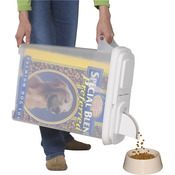 "Buddeez 32qt ""Bag - In"" Pet Food Dispenser -Holds Up To 22lbs-"