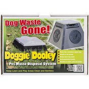 "Doggie Dooley In - Ground Dog Waste Toilet 14""X14""X10""-"