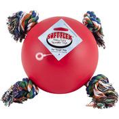 "Soft Flex Tuggy Ball 6.5""-Red"