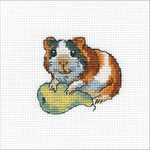 "Rodent Bonn Counted Cross Stitch Kit-4""X4"" 14 Count"