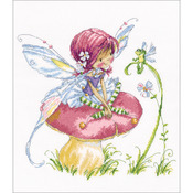 "Forest Fairy Counted Cross Stitch Kit-13.75""X13.75"" 14 Count"