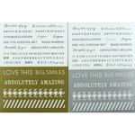 Fundamentals Sentiments Stickers - Mini Sentiments