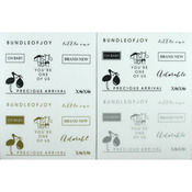 Fundamentals Sentiments Stickers - Baby