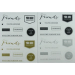 Fundamentals Sentiments Stickers - Friends