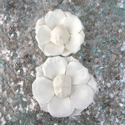 Norma Resin Face Flowers - Prima