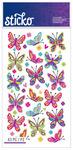 Spicier Butterflies Classic Sticko Stickers