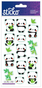 Rolly Polly Panda Classic Sticko Stickers