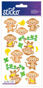 Dancing Monkeys Classic Sticko Stickers