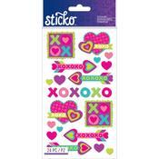 XOXOXO Classic Sticko Stickers