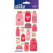 Mason Jar Classic Sticko Stickers