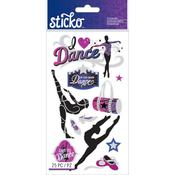 Dance Classic Sticko Stickers