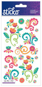 Bright Flourishes Classic Sticko Stickers