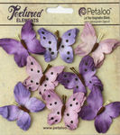 Teastained Purple Butterflies - Darjeeling - Petaloo