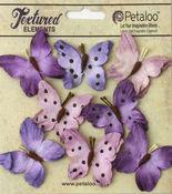 Teastained Purple Butterflies - Darjeeling - Petaloo