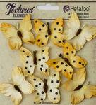 Teastained Yellow Butterflies - Darjeeling - Petaloo