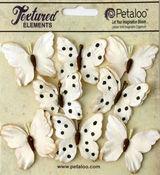 Teastained Cream Butterflies - Darjeeling - Petaloo