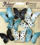 Teastained Blue Butterflies - Darjeeling - Petaloo
