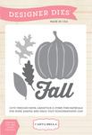 Fall Harvest Die Set - Fall Blessings - Carta Bella