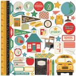 Teachers Pet Element Sticker Sheet - Echo Park