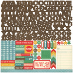 Teachers Pet Alpha Sticker Sheet - Echo Park