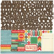 Teachers Pet Alpha Sticker Sheet - Echo Park
