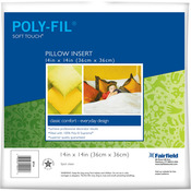 "14""X14"" FOB: MI - Soft Touch Down-Like Pillowform"