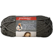 Deborah Norville Collection Serenity Chunky Sequin Yarn - Sparkling Silver