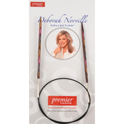 Size 5/3.75mm - Deborah Norville Fixed Circular Knitting Needles 32""