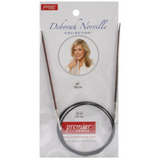 Size 2.5/3mm - Deborah Norville Fixed Circular Knitting Needles 40""