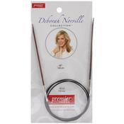 "Size 2.5/3mm - Deborah Norville Fixed Circular Knitting Needles 40"""